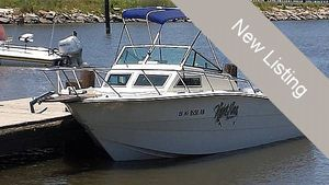 Used Hydra-Sports 25 Walkaround Fishing Boat For Sale