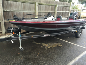 Used Stratos 176 VLO Bass Boat For Sale