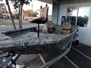 Used Ranger MPV1862 Aluminum Fishing Boat For Sale
