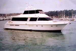 Used Viking Cockpit Cruiser Motor Yacht For Sale
