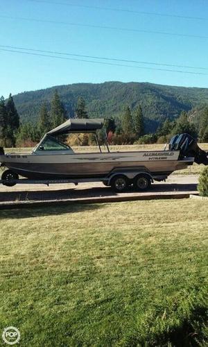 Used Alumaweld Intruder Forward Helm Aluminum Fishing Boat For Sale
