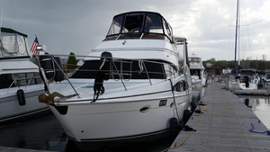 Used Carver 346 Motor Yacht Sports Cruiser Boat For Sale