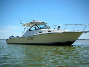 Used Pursuit 3370 Express Cruiser Boat For Sale