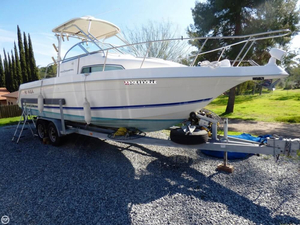 Used Wellcraft 264 COASTAL Walkaround Fishing Boat For Sale