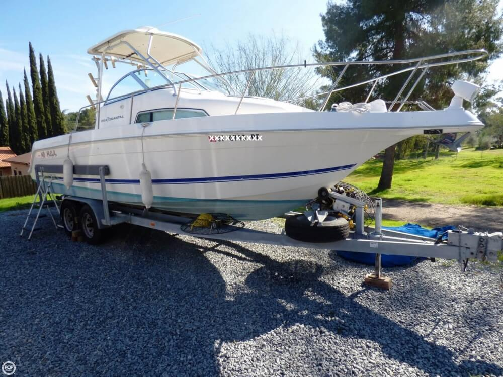 1997 used wellcraft 264 coastal walkaround fishing boat for Used fishing boats for sale in california