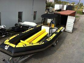 Used Air Solid Rigid Inflatable Tender Boat For Sale