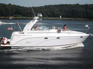 Used Rinker 390 Express Cuddy Cabin Boat For Sale
