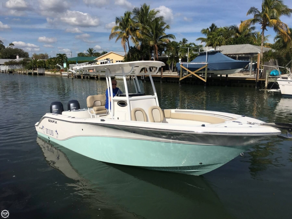 2015 used sea fox 256 commander center console center for Center console fishing boats for sale