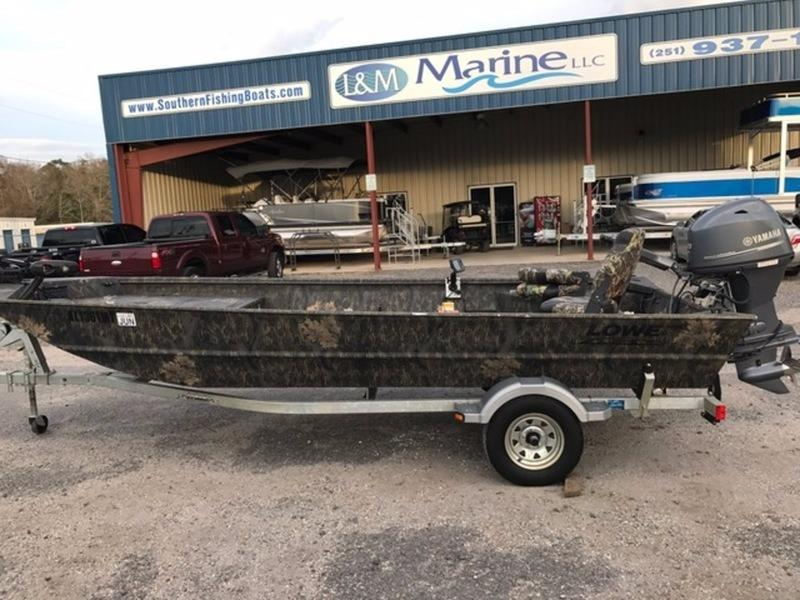 2015 Used Lowe Boats Hunting Roughneck 1860 DLX Camo Jon Boat For Sale - $16,490 - Stapleton, AL ...