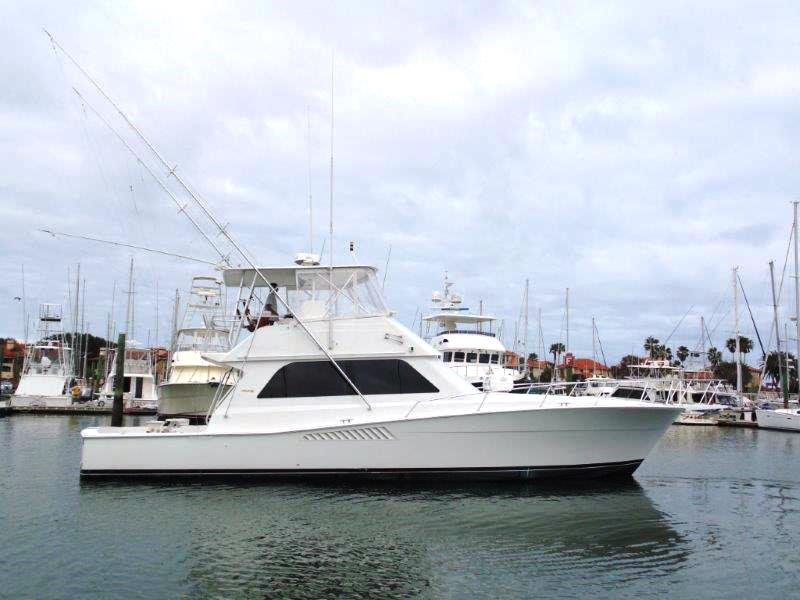 1998 Used Viking Sports Fishing Boat For Sale 299 000