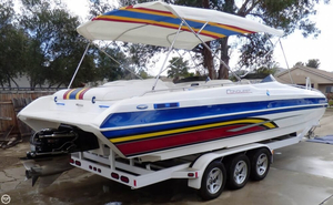 Used Conquest Top Cat II Power Catamaran Boat For Sale