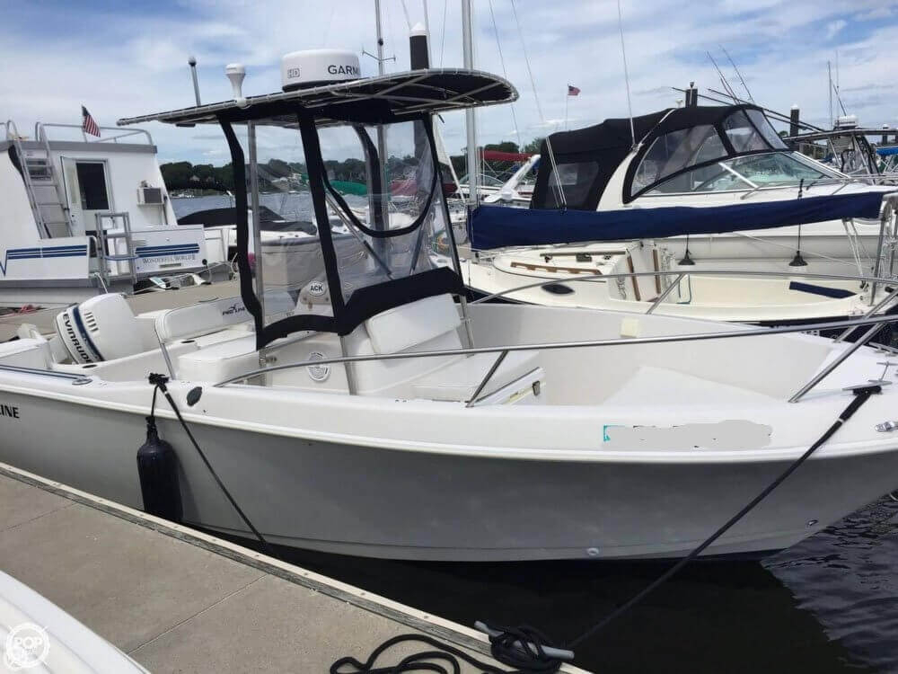 1996 used pro line sportsman center console fishing boat for Used center console fishing boats for sale