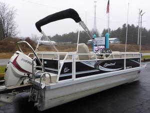 Used Jc Pontoon 22 Limited Tritoon Pontoon Boat For Sale