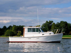 Used Cape Dory 280 Express Hard Top Downeast Fishing Boat For Sale