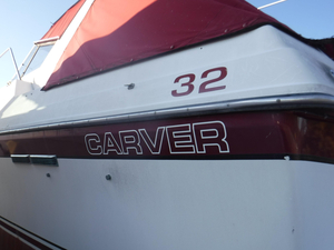Used Carver Express Cruiser Boat For Sale