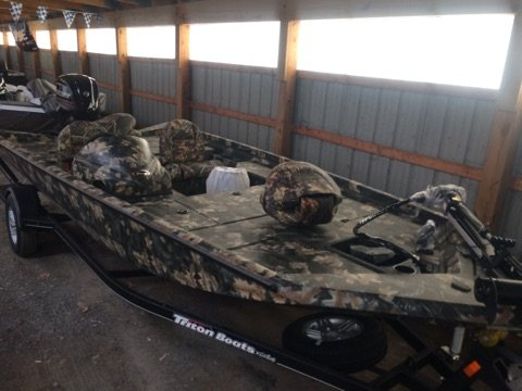 New Triton Boats 17 TX Bass Boat For Sale