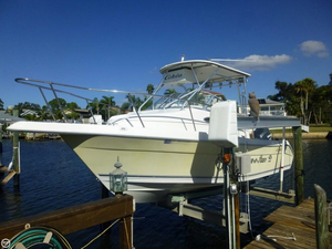 Used Cobia 250WA Walkaround Fishing Boat For Sale