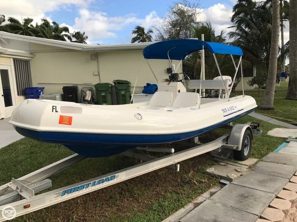 Used Rigid 17 Sport Center Console Fishing Boat For Sale