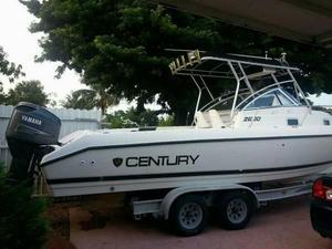 Used Century 2600 Walkaround Fishing Boat For Sale