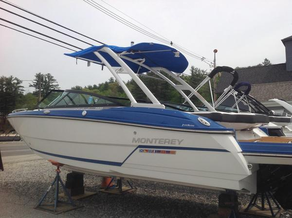 New Monterey 218 SS218 SS Bowrider Boat For Sale