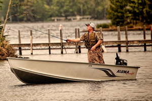 New Alumacraft V14 Utility Boat For Sale