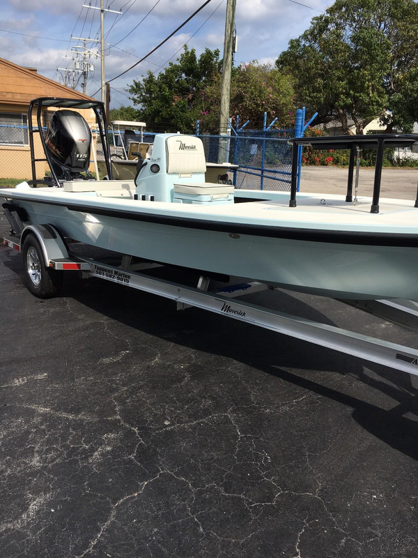 New Maverick Boat 18 HPX-V Flats Fishing Boat For Sale
