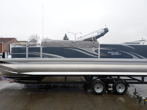 New Apex Qwest Angler 822 Pontoon Boat For Sale