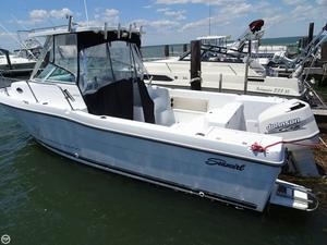 Used Seaswirl Striper 2600 Limited Edition Walkaround Fishing Boat For Sale