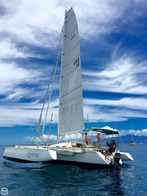 Used Contour 34 SC Trimaran Cruiser Sailboat For Sale