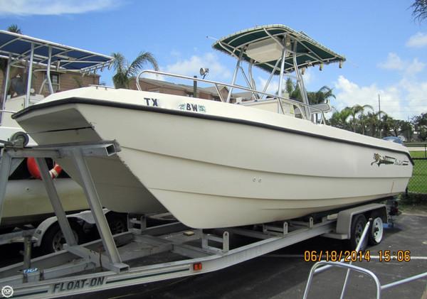 Used Sea Cat 21 Power Catamaran Boat For Sale