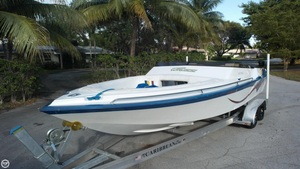 Used Warlock 230 XRI OPEN BOW High Performance Boat For Sale