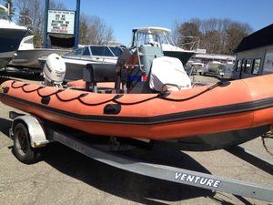 Used Zodiac 18' 550 SRMN Center Console Fishing Boat For Sale