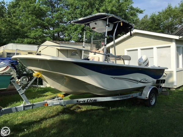Used Carolina Skiff 198 DLV Center Console Fishing Boat For Sale