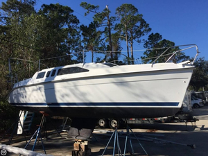 Used Hunter 260 Fixed Wing Keel Sloop Sailboat For Sale