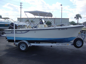 Used Proline Center Console Fishing Boat For Sale