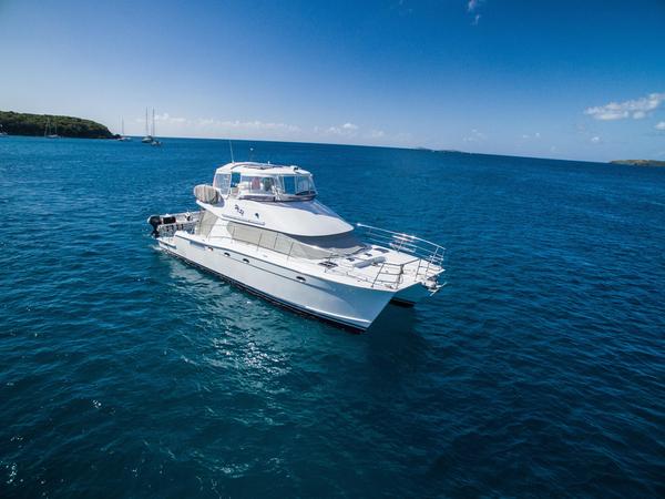 Used Wright 52 Power Catamaran Power Catamaran Boat For Sale