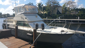 Used Hatteras 40 Double Cabin Aft Cabin Boat For Sale
