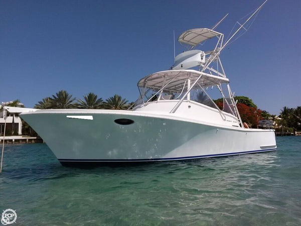 Used Priority 32SS Custom Sport Fisherman Sports Fishing Boat For Sale
