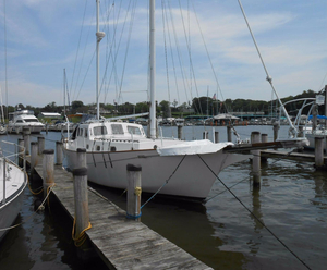 Used Newporter 40 Pilothouse Sailboat For Sale