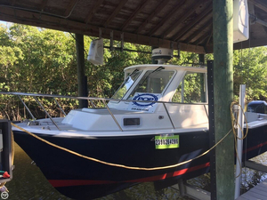 Used North Coast 23 Hard Top Downeast Fishing Boat For Sale