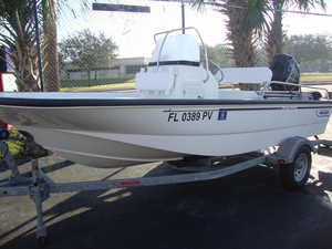 Used Boston Whaler MON Center Console Fishing Boat For Sale