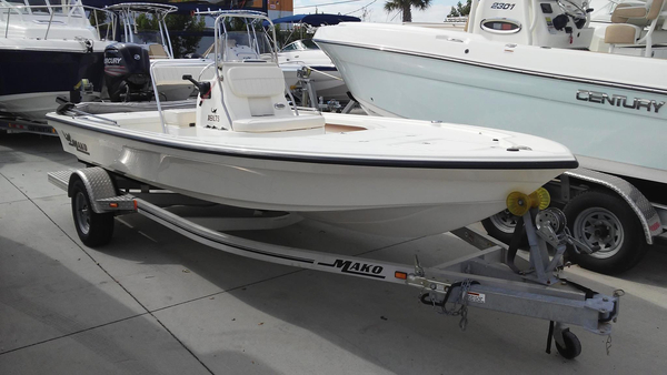 Used Mako 18 LTS Bay Boat For Sale