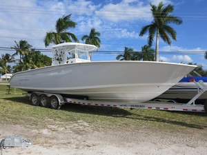 New Cape Horn 36 Off Shore Storm Grey #41J Center Console Fishing Boat For Sale