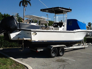 Used Dusky 25 cc Center Console Fishing Boat For Sale
