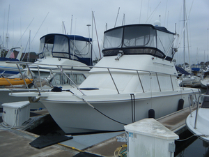 Used Skipjack 30 Flybridge Saltwater Fishing Boat For Sale