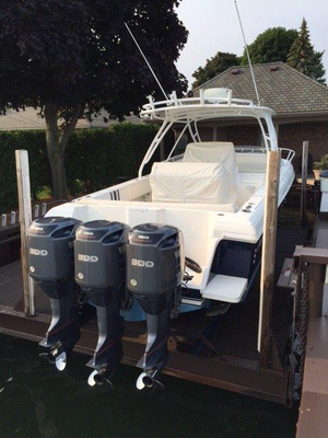 Used Intrepid 370 Cuddy Cabin Boat For Sale
