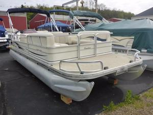 Used Sun Tracker Party Barge 24 Pontoon Boat For Sale