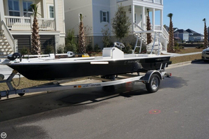 Used Mitzi 17 Tournament Skiff Fishing Boat For Sale
