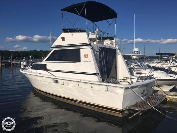 Used Trojan 30 Sports Fishing Boat For Sale