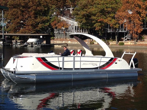 Used South Bay 925 Super Sport Pontoon Boat For Sale